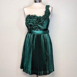 BCBG One-Shoulder Party Dress
